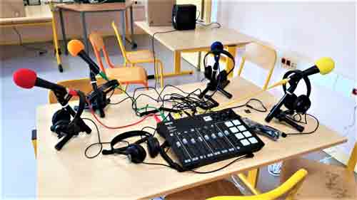 Installation web radio